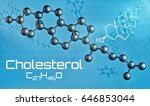 three dimensional molecular... | Shutterstock . vector #646853044