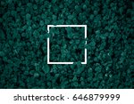 square frame  creative layout... | Shutterstock . vector #646879999