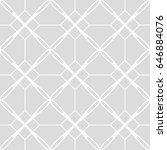 art deco seamless background.   Shutterstock .eps vector #646884076