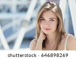 beautiful woman | Shutterstock . vector #646898269