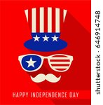 united states independence day | Shutterstock .eps vector #646914748