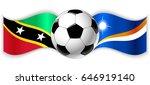 kittitian and marshallese wavy... | Shutterstock .eps vector #646919140