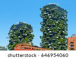 modern and ecologic skyscrapers ...   Shutterstock . vector #646954060