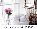 home decoration  fresh pink... | Shutterstock . vector #646955380