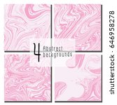 abstract pink marble texture... | Shutterstock .eps vector #646958278