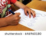 occupational therapy in early... | Shutterstock . vector #646960180