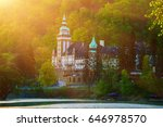 lillafured palace in miskolc ... | Shutterstock . vector #646978570