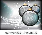 christmas card design for text   Shutterstock .eps vector #64698325
