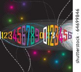 digital background   Shutterstock .eps vector #64699846