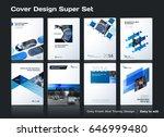 abstract vector business... | Shutterstock .eps vector #646999480
