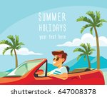 vector illustration with man... | Shutterstock .eps vector #647008378