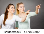 gestures  having idea concept.... | Shutterstock . vector #647013280