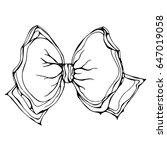 ink vector illustration... | Shutterstock .eps vector #647019058