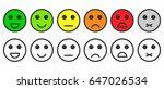 rating satisfaction. feedback... | Shutterstock .eps vector #647026534