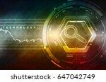 search button 2d illustration | Shutterstock . vector #647042749