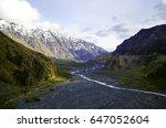 beautiful scenic green summer... | Shutterstock . vector #647052604