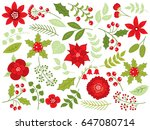 Vector Winter Forest Set With...