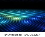 Abstract Colorful Dance Floor...