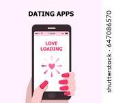 illustration vector of dating...