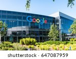 Small photo of Mountain View, Ca USA May 7, 2017: Googleplex - Google Headquarters office buildings