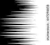 comic horizontal speed lines... | Shutterstock .eps vector #647098858
