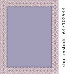 frame with lace border .    Shutterstock . vector #647102944