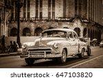 havana  cuba   september 14 ... | Shutterstock . vector #647103820