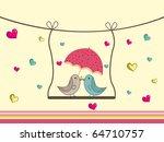 abstract romantic love... | Shutterstock .eps vector #64710757