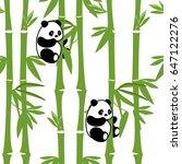 vector illustration seamless... | Shutterstock .eps vector #647122276