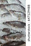 Small photo of Fresh snapper fish with ice