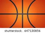 horizontal ball texture for... | Shutterstock .eps vector #647130856