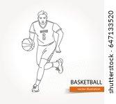 illustration of basketball...   Shutterstock .eps vector #647133520