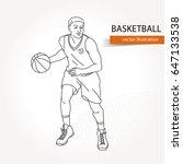 illustration of basketball...   Shutterstock .eps vector #647133538