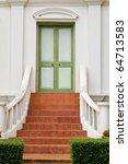 The Classic Green Door In...