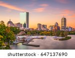 boston  massachusetts  usa... | Shutterstock . vector #647137690