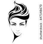 illustration of women short...   Shutterstock .eps vector #647148670
