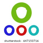 set of shield icon | Shutterstock .eps vector #647153716
