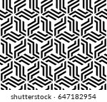 the geometric pattern with... | Shutterstock .eps vector #647182954