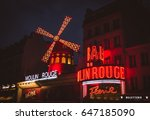 paris  france  may 17  2017 the ... | Shutterstock . vector #647185090