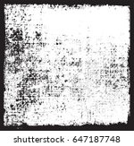 grunge texture background... | Shutterstock .eps vector #647187748