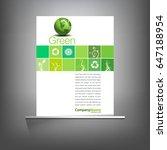 green environmentak page...   Shutterstock .eps vector #647188954