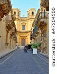 palace nicolaci of villadorata... | Shutterstock . vector #647204500
