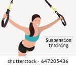 upper body exercise concept....   Shutterstock .eps vector #647205436
