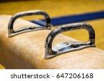 gymnastic equipment  | Shutterstock . vector #647206168