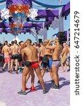 miami beach  florida  march 6 ... | Shutterstock . vector #647214679