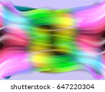 Abstract Colorful Wavy...
