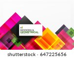 corporate business abstract... | Shutterstock . vector #647225656