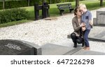 mother and son visiting family... | Shutterstock . vector #647226298