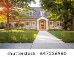 traditional style  home   Shutterstock . vector #647236960