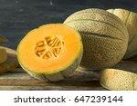 Raw Organic Tuscan Melon...